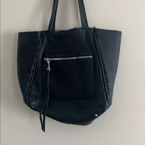 Aimee Kestenberg  Black and Silver bag